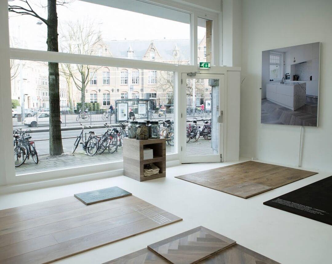 Entrance Showroom Uipkes Wood Flooring in Amsterdam