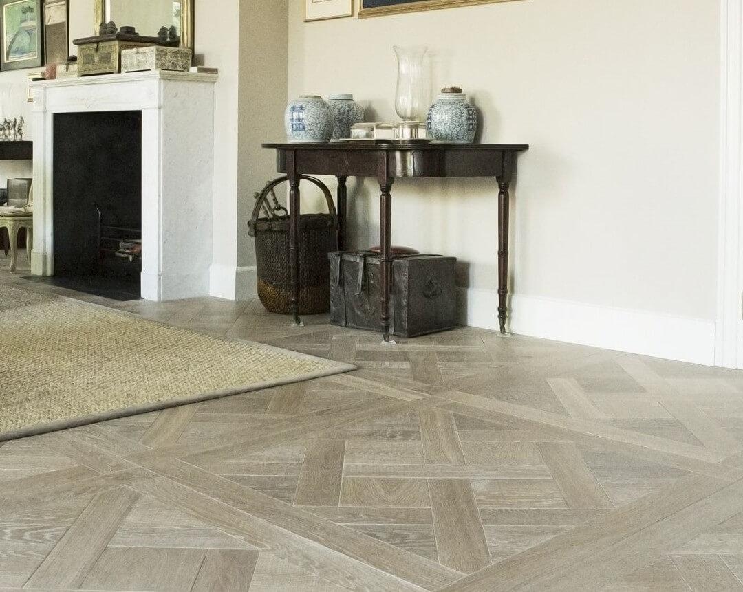 Engineered Oak Wood Floor Versailles Pattern