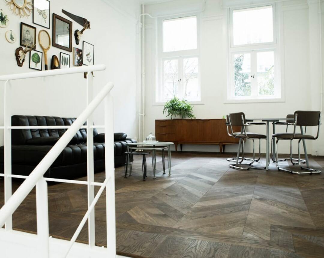 office uipkes wood flooring amsterdam