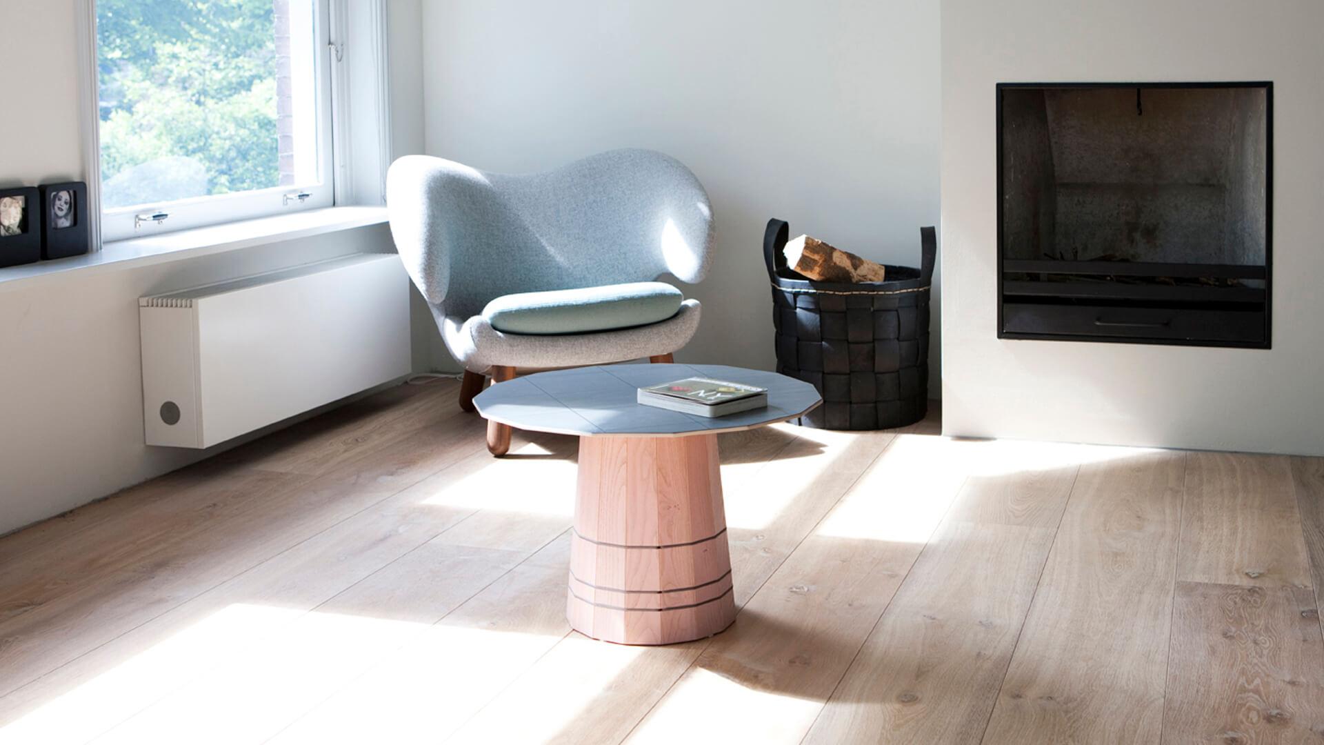 Oak Wood Flooring in the Living Room