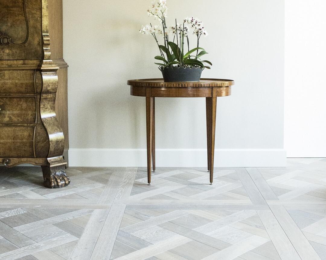 Versailles wood flooring example Uipkes