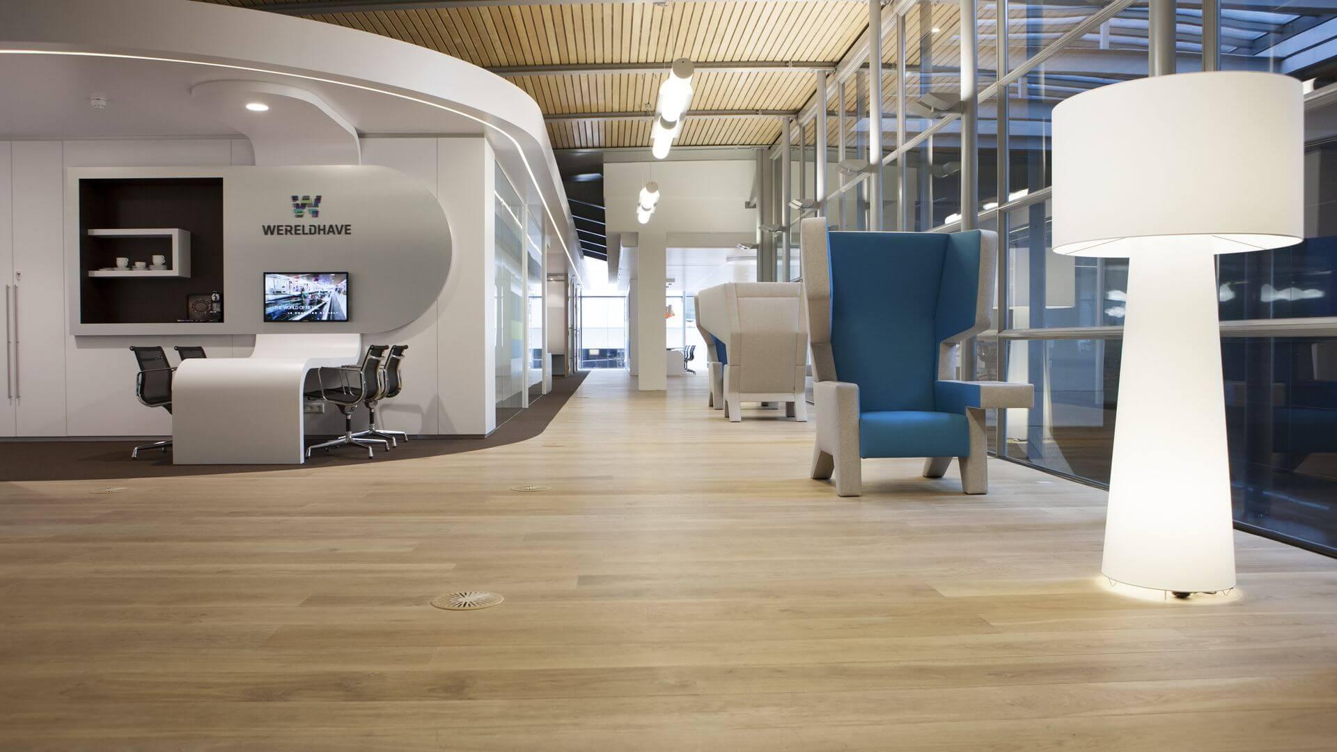 Wereldhave project by Uipkes Wood Flooring