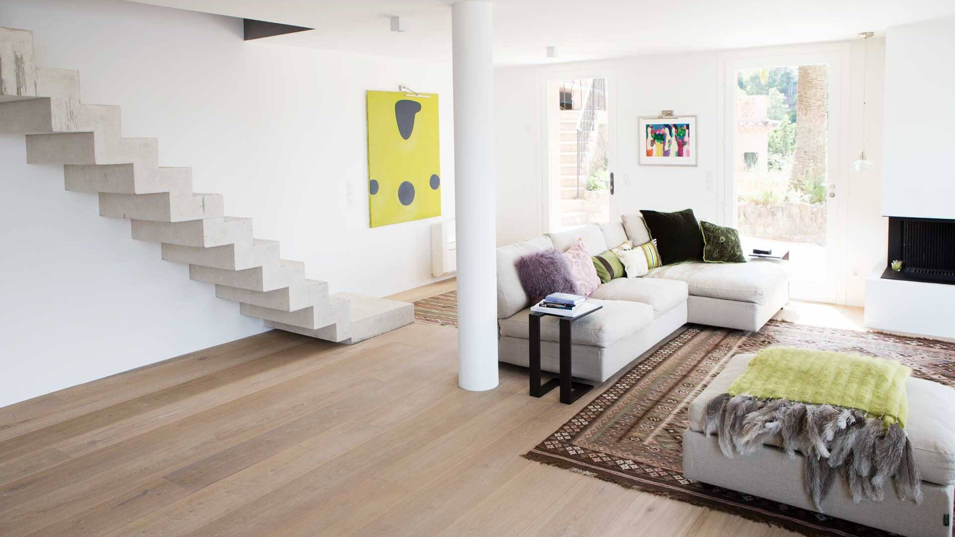 Wood Flooring installed in home France