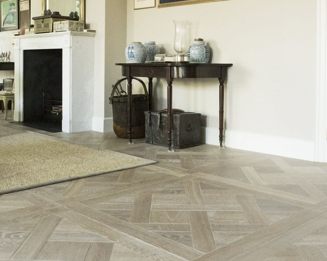 Engineered Oak Wood Floor Versailles Pattern