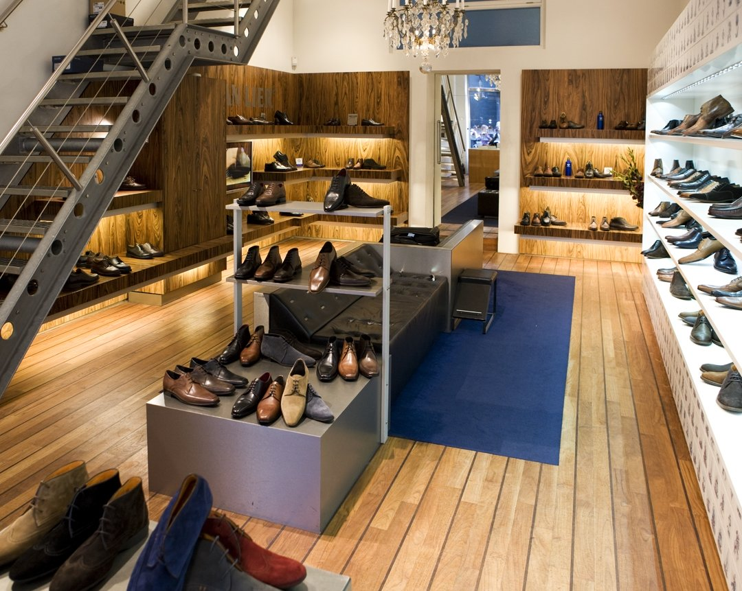project amsterdam shoestore uipkes wood flooring