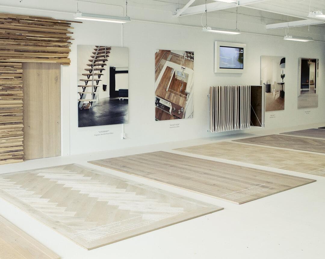 Uipkes Wood Flooring Showoorm Alphen aan den Rijn