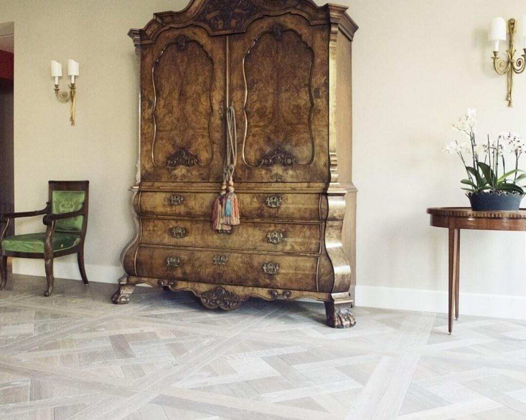 versailles flooring on underfloor heating