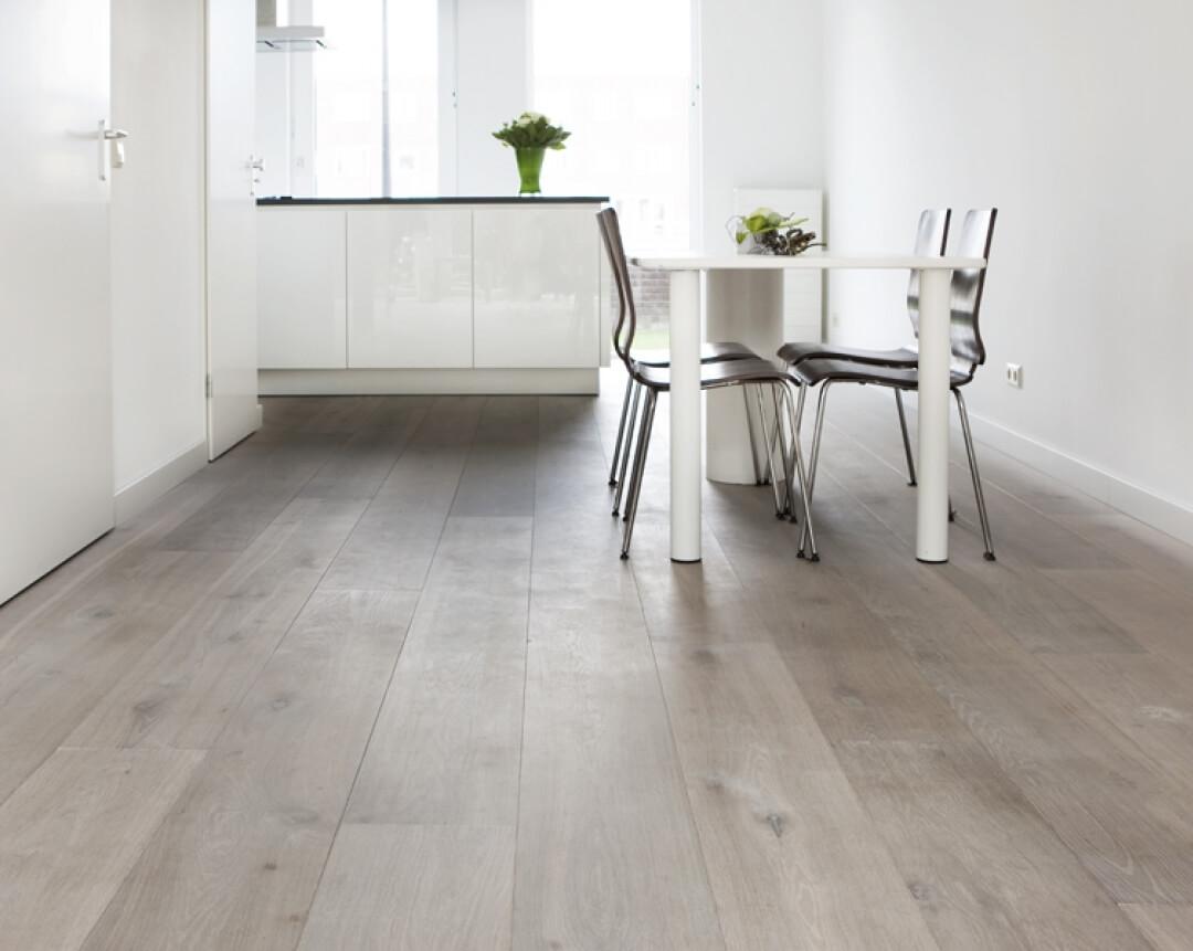 wood floor new built