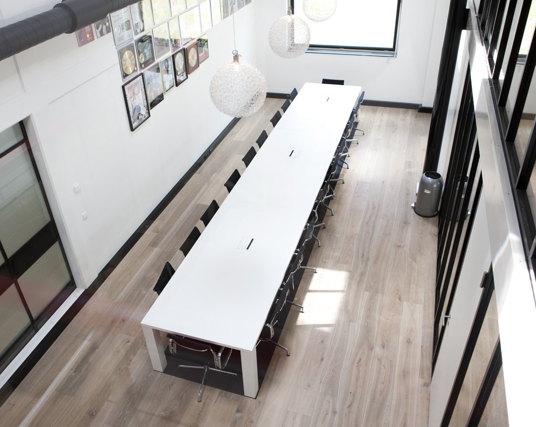 Wood office floor Hilversum