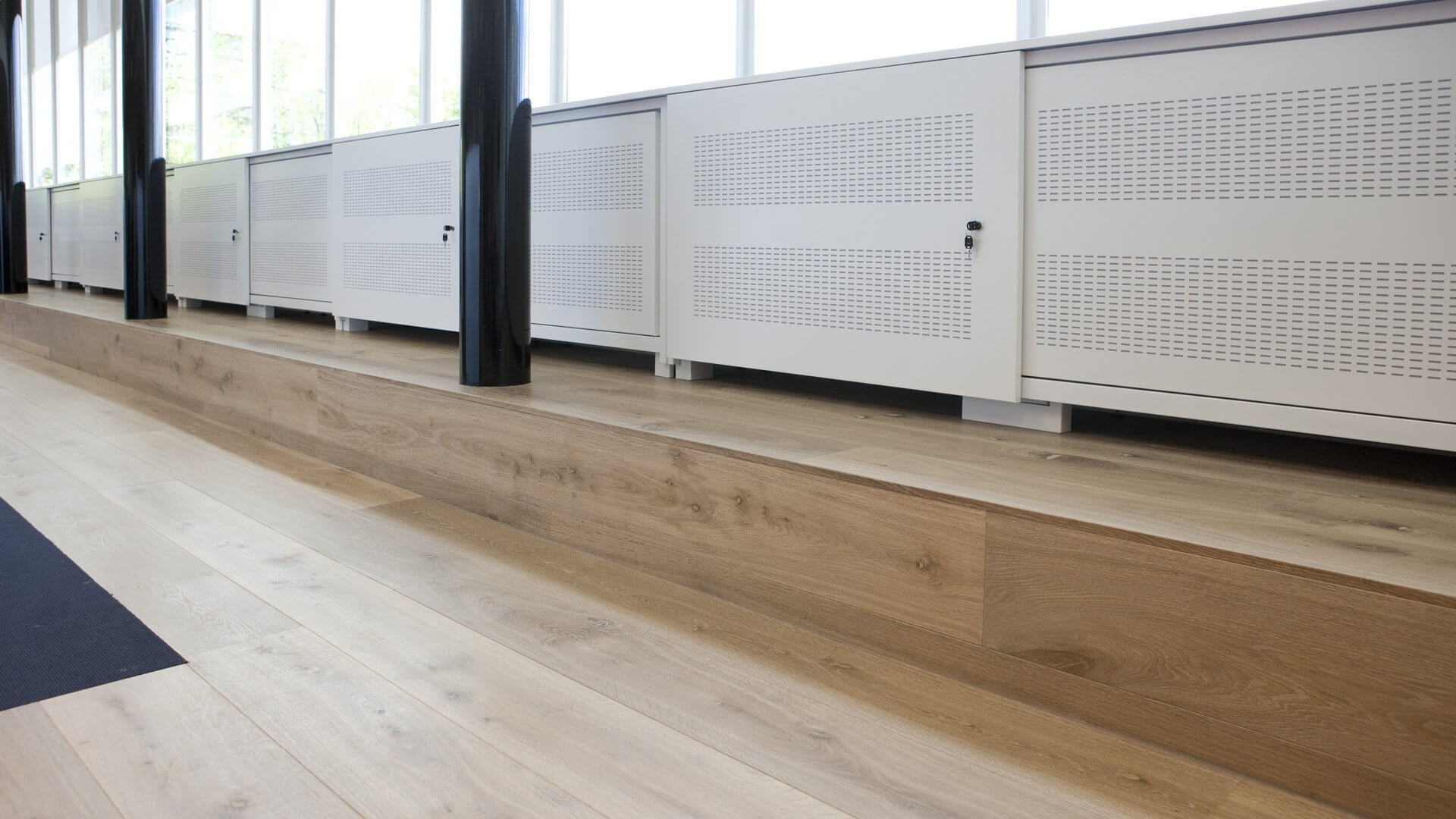 Office wood flooring in Hilversum, The Netherlands