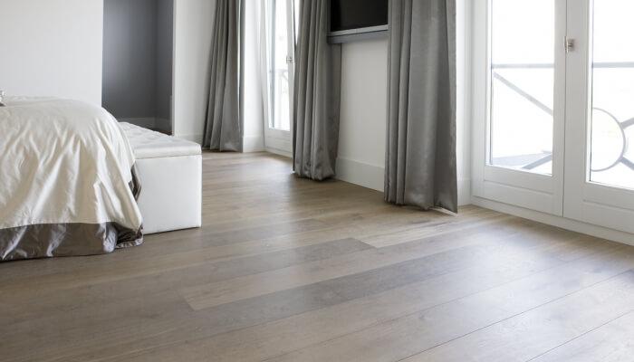 wood flooring with underfloor heating