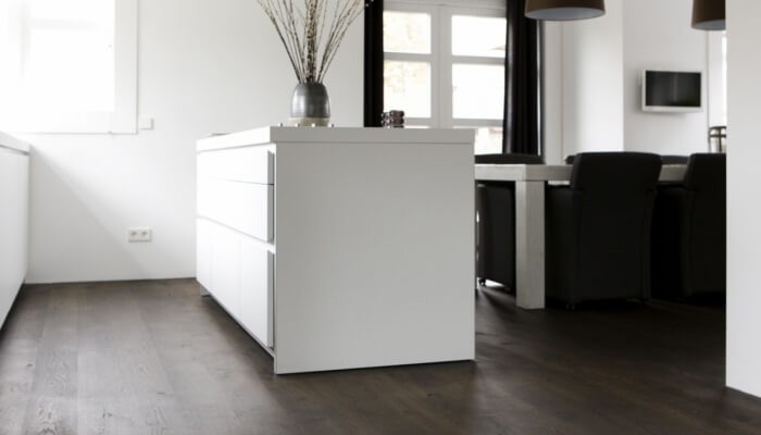 oak wood flooring kitchen