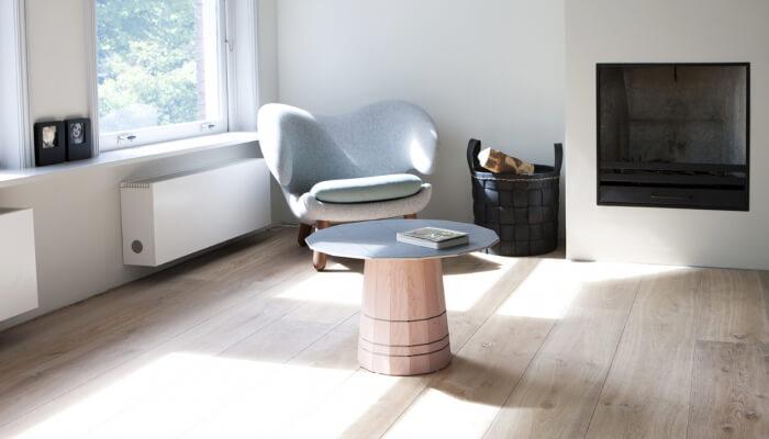 underfloorheating wooden floor