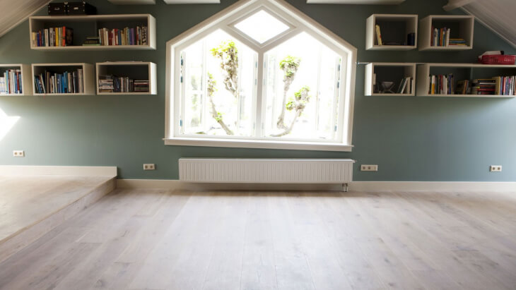 Oak Engineered Floor Rotterdam - Blossom White