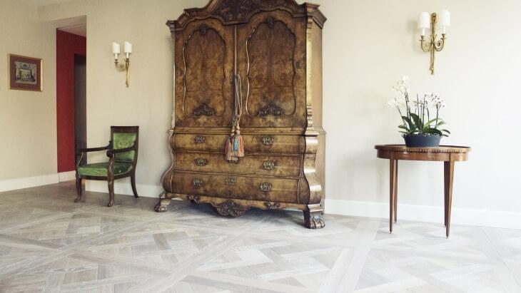 versailles pattern floor