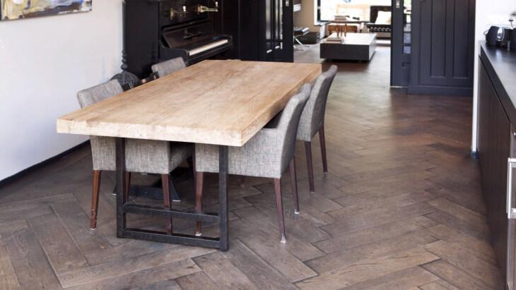 wooden flooring in tiel