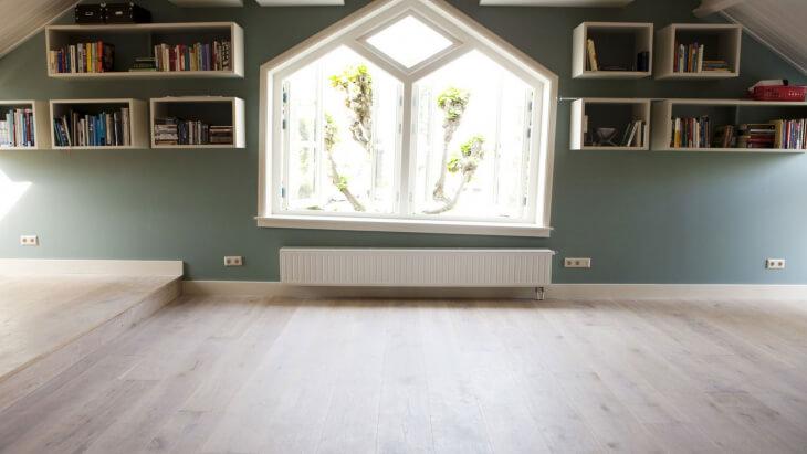 Oak Engineered Floor Rotterdam - Blossom White