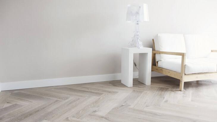 white oak flooring in alkmaar